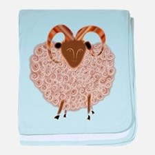 SHEEP.png baby blanket