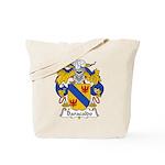 Baracaldo Family Crest Tote Bag