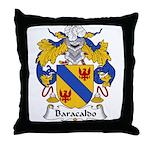 Baracaldo Family Crest Throw Pillow