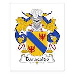 Baracaldo Family Crest Small Poster