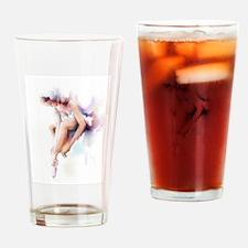 ballerina Drinking Glass