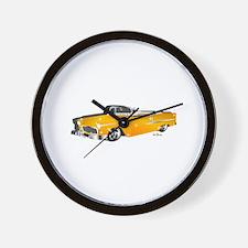 Classic orange Wall Clock