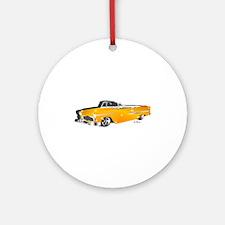 Classic orange Round Ornament