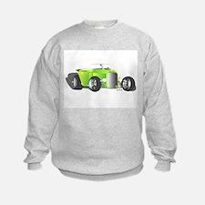 Hot Rod Green Sweatshirt