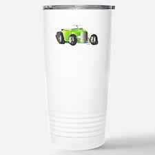 Hot Rod Green Stainless Steel Travel Mug