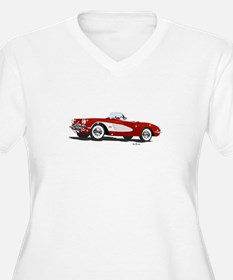 Hot Rod Red Plus Size T-Shirt
