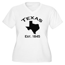 Cute Texas state outline T-Shirt