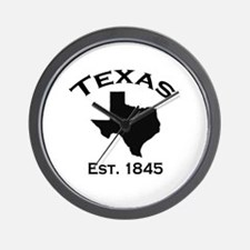 Cute Texas state outline Wall Clock