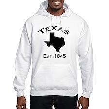 Cute Texas state outline Hoodie
