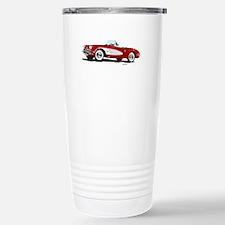 Hot Rod Red Stainless Steel Travel Mug