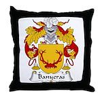 Banyeras Family Crest Throw Pillow