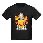 Banyeras Family Crest Kids Dark T-Shirt
