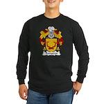 Banyeras Family Crest Long Sleeve Dark T-Shirt