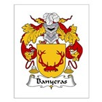 Banyeras Family Crest Small Poster