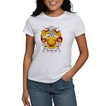 Banyeras Family Crest Women's T-Shirt