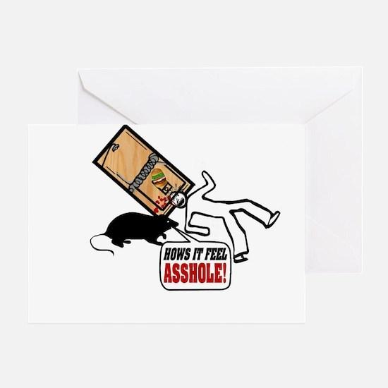 Mouse Revenge Greeting Card