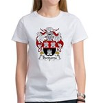 Bandama Family Crest Women's T-Shirt