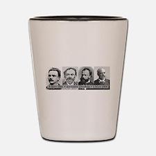 Antonin Dvorak Shot Glass