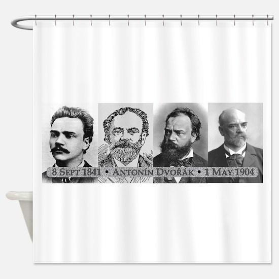 Antonin Dvorak Shower Curtain