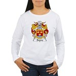 Bances Family Crest Women's Long Sleeve T-Shirt