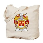 Bances Family Crest Tote Bag