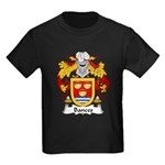 Bances Family Crest Kids Dark T-Shirt