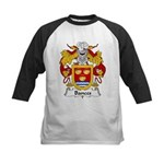 Bances Family Crest Kids Baseball Jersey