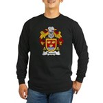 Bances Family Crest Long Sleeve Dark T-Shirt