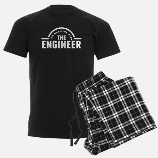 The Man The Myth The Engineer Pajamas