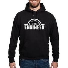 The Man The Myth The Engineer Hoodie