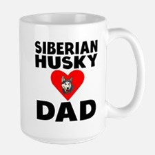 Siberian Husky Dad Mugs
