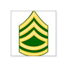 """Cute First sergeant Square Sticker 3"""" x 3"""""""