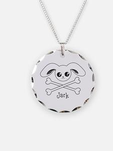 Bunny Crossbones Necklace