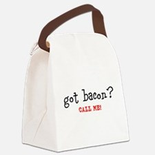 Got Bacon Canvas Lunch Bag