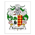 Balencegui Family Crest  Small Poster