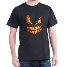 Halloween Jack-O-Lantern Scary Pumpkin T-Shirt