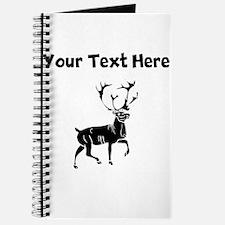 Custom Buck Silhouette Journal
