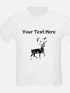 Custom Buck Silhouette T-Shirt