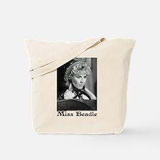 Miss B w/Bonnet Tote Bag