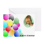 Easter Bulldog Greeting Cards (Pk of 10)