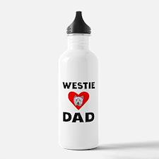 Westie Dad Water Bottle
