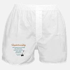 Skunkilosophy Just Living Boxer Shorts