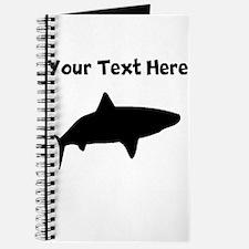 Custom Tiger Shark Silhouette Journal