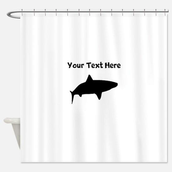 Tiger Shark Shower Curtains  Tiger Shark Fabric Shower Curtain Liner