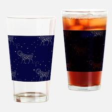 stars aries Drinking Glass