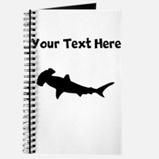 Custom Hammerhead Shark Silhouette Journal