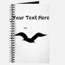 Custom Seagulls Silhouette Journal