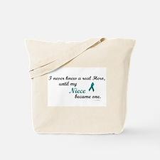 Never Knew A Hero OC (Niece) Tote Bag