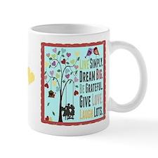 Live Simply Mug Mugs