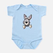 Pocket Schnauzer Infant Bodysuit